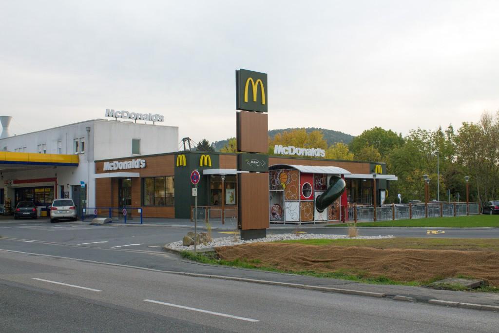 Das neue McDonald's-Restaurant in Tauberbischofsheim