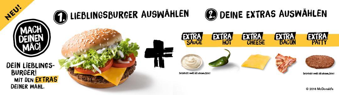 McDonald\'s startet Großoffensive: Signature Collection, Mach deinen ...